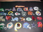 Nfl Logo Patches 29 Diff. Proto Type