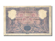 [23847] France 100 Francs 100 F 1888-1909 And039and039bleu Et Roseand039and039 1896 Km 65b...