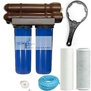 Ro Reverse Osmosis Water Filter 300 Gpd, Clean Water, Hydroponic And Aquarium