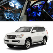 14-light Smd Full Led Interior Lights Package For 2010-13 And Up Lexus Gx460