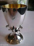 Silverclaw Kiddush Cup - 925 Sterling Silver Crafted By Benny Dabbah - Israel