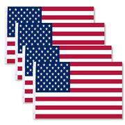 4-pack 3x5 American Flags Usa United States Of America Us Stars