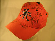Menand039s Cap Osu Team Signed Oklahoma State University Basketball Autograph [y63]