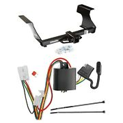 Draw Tite Black Max-frame Class Iii Hitch And Wiring Connector For Subaru Forester