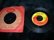 Antique Vintage The Beatles Capitol Record Label England Lennon George Martin 45