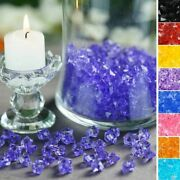 800 Pcs Mini Crystal Ice Acrylic Vases Fillers Wedding Party Home Centerpieces