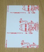 2013 Topps Wacky Packages Ans11 Ans 11 Red Ludlow Back Sticker Horderlands 2 25