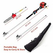 2020 Upgrade Maxtra 43cc Gas Pole Saw Pruner Chainsaw Reach 14ft With Carry Bag