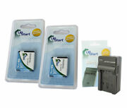 2x Battery+charger For Canon Nb-11l Cb-2ld Elph 320 Hs 110 A4000 Ixus 240 125 Is