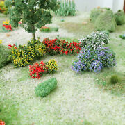 Mp Scenery Flower Bushes O Ho N Scale Architectural Tree Trees Railroad Layouts