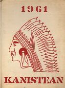 High School Yearbook Canisteo New York Canisteo Central School Kanistean 1961