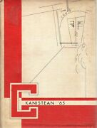 High School Yearbook Canisteo New York Canisteo Central School Kanistean 1965