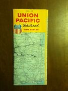 2 - 1969 Union Pacific Railroad Timetables Vintage Old Ephemera Public Jan And May