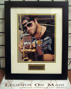 Lee Brice Drive Your Truck Signed 8x10 Framed Double Matted Photo