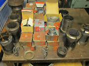 Collets Very Large And Collet Pads Balas Warner And Swazey  A-0440-250