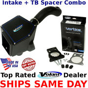 Volant Powercore 151536 + Vortice Tb Spacer 725153 Combo Chevy Gmc 99-07 V6 V8