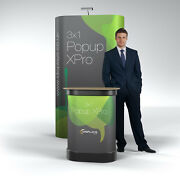3x1 Straight Xpro Popup Exhibition Stand