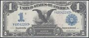 Fr229a 1 1899 Series Eagle Silver Certificate Vernon / Mcclung Xf Wl4953