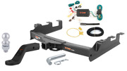 Curt Class 5 Trailer Hitch Tow Package For Silverado And Sierra 2500hd/3500