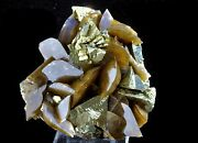 6.7oz Super Bright Siderite And Chalcopyrite Mineral Display Specimen From China