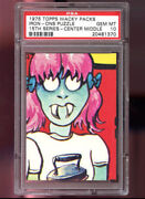1975 Wacky Packages Pack Iron-ons Puzzle15th Series 15 Psa 10 Ironons Checklist
