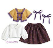 American Girl Cecile's Parlor Outfit Jacket Ribbons Nib Retired