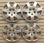 New 2006-2011 Honda Civic 16 Hubcap Wheelcover Set Of 4 Bolt-on Silver