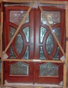 Mahogany Exterior Front Door Excellent Series 5and0390 X 6and0398
