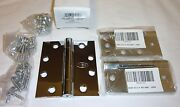 3 Ives 3cb1 4.5 X 4 651 Nrp Concealed Bearing Mortise Hinges Bright Chrome