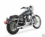 Vance And Hines Chrome Straightshots Straight Shots Exhaust 04-13 Harley Sportster
