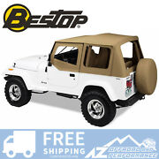 Bestop Replace A Top Clear Half Door Skins Spice For 88-95 Jeep Wrangler Yj