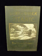 Extremely Rare Salesman's Sample - The Wreck Of The Titanic - First Edition 1912