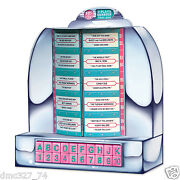 1950s Sock Hop Grease Party Table Decoration 3-d Tabletop Jukebox Centerpiece