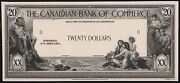 Canada 20 1917 The Canadian Bank On Commerce Face Die Essay Wl6964