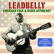Leadbelly American Folk And Blues Anthology 75 Track Best Essential Music New 3 Cd