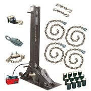 Champ Olympian 10 Ton Pulling Starter Kit 4021 With Power Pull Post And Chains