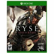Ryse Son Of Rome Microsoft Xbox One, 2013 Pre-owned Free-shipping