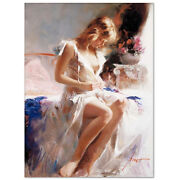 Pino Early Morning S/n W/coa Embellished Canvas 3200srp-offer