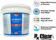Rx Clear Ph Minus Decreaser Sodium Bisulfate Swimming Pool Chemical - 25 Lbs