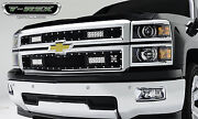 T-rex Torch Series Led Grille For And03914-and03915 Chevrolet Silverado 1500 6311211 Black