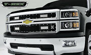 T-rex Torch Series Led Grille For '14-'15 Chevrolet Silverado 1500 6311211 Black