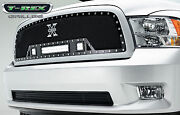 T-rex Torch Series Led Grille For 2009-2012 Dodge Ram 1500 6314571 Black