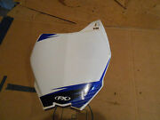Yamaha Yz450 Yz 450 Yz450f Yz450fwl 2007 Front Name Number Plate Plastic