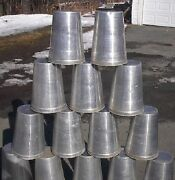 Ready To Use 25 Maple Syrup Sap Buckets +square Lids Covers + Taps Spouts Spiles