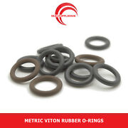 Metric Viton Fkm Rubber O Rings 1.5mm Cross Section 31mm-60mm Id - Uk Supplier