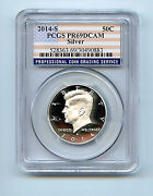 Kennedy Half 2014 S Pr69 Dcam Pcgs 50 Cent Silver Proof Graded Coin C3