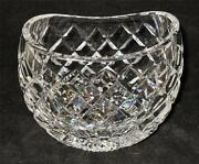 Waterford Crystal Giftware Oval Vase, Ellipse, 4 1/4 Tall X 5 1/4 Wide