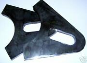 3/8 Thick Axle Plates For Chopper Builders, 1 Slot