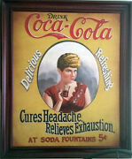 Coca-cola Advertisement Cures Headache-relieves Exhaustion