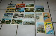 20 1910 To 70's  Maine Postcards Camping Clam Diggers Large Letter Fun Lot